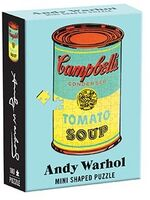 - Andy Warhol Mini Shaped Puzzle Campbell's Soup