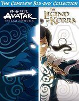 Avatar & Legend of Korra Complete Series Coll - Avatar And Legend of Korra Complete Series Collection