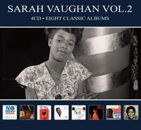 Sarah Vaughan - Eight Classic Albums Vol 2 [Digipak] (Hol)