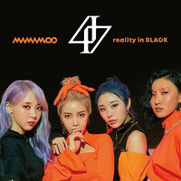 Mamamoo - Reality In Black (Version A) (CD + DVD w/2 bonus tracks)