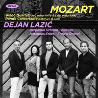 Dejan Lazic - Mozart: Piano Quartets Nos. 1 & 2