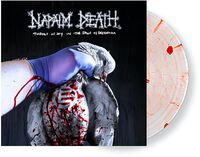 Napalm Death - Throes Of Joy In The Jaws Of Defeatism [Indie Exclusive Limited Edition Stressed Sanguine Blood Smear LP]