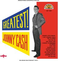 Johnny Cash - Greatest [Limited Edition White LP]