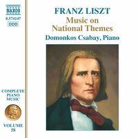 Liszt / Csabay - Music On National Themes