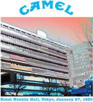 Camel - Kosei Nenkin Hall Tokyo January 27 1980 (Uk)