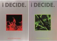 Ikon - I Decide (Incl. Photobook, Folding Pack, Accordion Postcard, Flip Book, Selfie Photocard, 4Cut Photocard + Graphic Sticker)