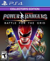 Ps4 Power Rangers: Battle for the Grid - Coll Ed - Ps4 Power Rangers: Battle For The Grid - Coll Ed
