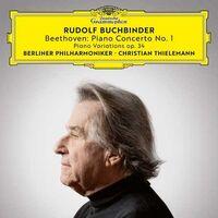 Rudolf Buchbinder/Christian Thielemann/Berliner Philharmoniker - Piano Concerto No 1/ Piano Variations Op 34