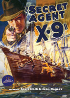 Secret Agent X-9 (1937) - Secret Agent X-9 (1937) (2pc)