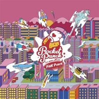 Rocket Punch - Pink Punch (Incl 80pg, Photocard, Pop-Up Card + Sticker)