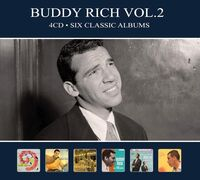 Buddy Rich - Six Classic Albums Vol 2 [Digipak] (Hol)