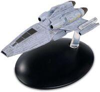 Star Trek Starships - Eaglemoss Hero Collector - Star Trek Starships - Kes Shuttle