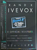 Brand X - Livevox: The Official Bootleg (Box) (Dsd) (Jpn)