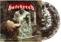 Hatebreed - Weight Of The False Self [Limited Edition Bone Brown Swirl-Black Mint Green Splatter LP]
