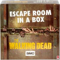 Games - Mattel Games - Escape Room In A Box: The Walking Dead