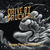 Drive-By Truckers - Brighter Than Creation's Dark [Clear & Black Marble 2LP]