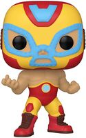 Funko Pop! Marvel: - FUNKO POP! MARVEL: Luchadores- Iron Man