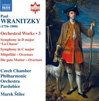 Wranitzky - Orchestral Works 3