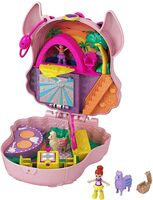 Polly Pocket - Mattel - Polly Pocket Llama Music Party Compact