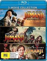 Jumanji [Movie] - Jumanji: 3-Movie Collection: Jumanji / Jumanji: Welcome to the Jungle /Jumanji: The Next Level