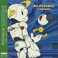 T-Square - AI Factory (Japanese Pressing)