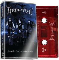 Immortal - Sons Of Northern Darkness (Red Cass.) [Limited Edition] (Red)