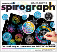 Original Spirograph Scratch & Shimmer - The Original Spirograph Scratch & Shimmer