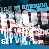 Riot - Live In America: Official Bootleg Box Set Vol 3 1981-1988