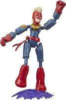 Avengers - Hasbro Collectibles - Avengers Bendy Figure Captain Marvel W2
