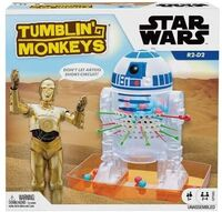 Games - Mattel Games - Star Wars Tumblin' Monkeys