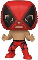 Funko Pop! Marvel: - FUNKO POP! MARVEL: Luchadores- Deadpool