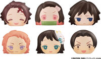 Megahouse - Megahouse - Demon Slayer Kimetsu V4 Fluffy Squeeze Bread 6Pc Bmb DS