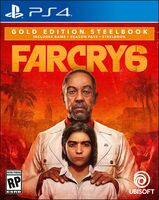 Ps4 Far Cry 6 Steelbook Gold Ed - Far Cry 6 SteelBook Gold Edition for PlayStation 4