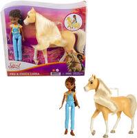 Spirit - Mattel - Spirit Doll & Horse Pru and Chica Linda