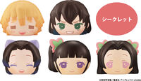 Megahouse - Megahouse - Demon Slayer Kimetsu V5 Fluffy Squeeze Bread 6Pc Bmb DS