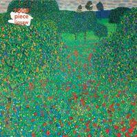 Flame Tree Studio - Adult Jigsaw Puzzle Gustav Klimt: Poppy Field: 1000-piece JigsawPuzzle