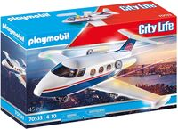 Playmobil - City Life Private Jet (Fig)