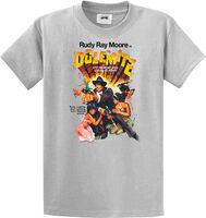 Rudy Ray Moore - Dolemite Original Poster Art Grey Unisex Short Sleeve T-shirt Large