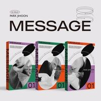 Park Ji Hoon - Message Me (Random Cover) (incl. 80pg Photobook, Folded Poster, MOTD Card, Ask Photocard + Deco Sticker)