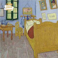 Flame Tree Studio - Adult Jigsaw Puzzle Vincent van Gogh: Bedroom at Arles: 1000-pieceJigsaw Puzzle