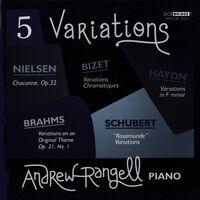 ANDREW RANGELL - Five Variations
