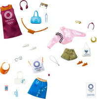 Barbie - Mattel - Barbie Licensed Fashion Storytelling Pack 6