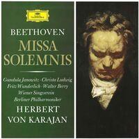 Beethoven / Von Karajan / Janowitz / Ludwig - Beethoven: Missa Solemnis Op. 123 [CD/Blu-Ray]
