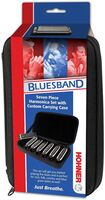 Hohner Pbh7 Piedmont Blues 7Pk Harmonica W/Case Bk - Hohner PBH7 Piedmont Blues 7 Pack Harmonica Set Includes Keys G, A,Bb, C, D, E, and F With Padded Case (Black)