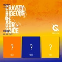 Cravity - Cravity Season3. : Hideout: Be Our Voice (Random Cover) (incl. 132pg Photobook, Photocard, Sticker + Polaroid Photocard)