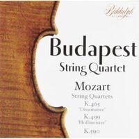 W.A. Mozart - Budapest String Quartet Plays Mozart