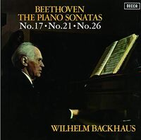 Beethoven / Wilhelm Backhaus - Beethoven: Piano Sonatas 21 17 & 26 (Ltd) (Jpn)
