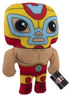 Funko Pop! Plush: - FUNKO POP! PLUSH: Marvel Luchadores- Iron Man 17.5