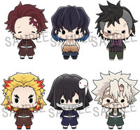 Megahouse - Megahouse - Demon Slayer Kimetsu Chokorin Mascot Series 2 6Pc Set