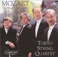 W.A. Mozart - Tokyo String Quartet Play Mozart
